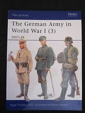 Osprey Book: The German Army in World War I (3) 1917–18 - Men-at-Arms 419