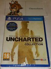 UNCHARTED: l'Nathan Drake ps4 NUOVO SIGILLATO UK PAL SONY PLAYSTATION 4 Inc BETA