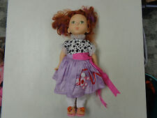 FANCY NANCY  18  INCH  POODLE SKIRT DRESS  DOLL  FROM  CHILDRENS BOOK SERIES