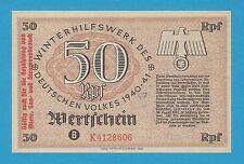 Germany Winterhilfswerk WHW 50 RFP OVPRT 1940-41 S/B-Kroll 391 Block K As Issued