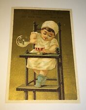Antique Victorian American Confectionary / Candy Store Advertising Trade Card!