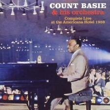 COUNT BASIE : COMPLETE LIVE AT THE AMERICANA HOTEL 1959 / 2 CD-SET - NEUWERTIG