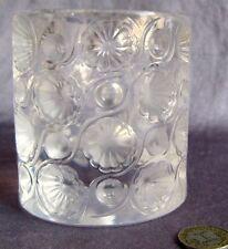 Lalique Crystal RARE Tokyo Cigarette Lighter Holder Vintage 10564 Retired France