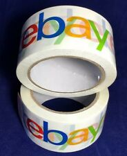 eBay Branded BOPP Packaging Shipping Tape - 2 Rolls (75 yards per roll)
