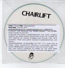 (DQ289) Chairlift, Amanaemonesia - 2012 DJ CD