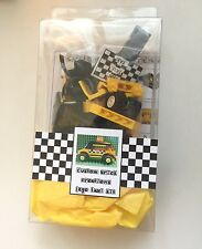 Custom Lego Taxi cab kit- pkg'd w/ ALL parts, instructions, decals
