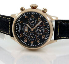 INGERSOLL GERMAN DESIGN AUTOMATIC ROSE GOLD LAYERED STEEL 45mm LEATHER IN1824RBK