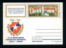 "POLAND - POLONIA - Cart. Post. - 1981 - 75° ann.soc.calc. ""WISLA""-KRAKOW. E5064"