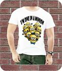 PERSONALISED I'M ONE IN A MINION DESPICABLE ME BIRTHDAY GIFT MEN KIDS T-SHIRT