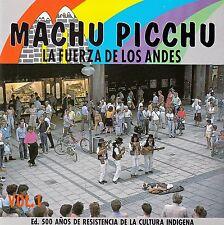 """MACHU PICCHU """"LA FUERZA DE LOS ANDES"""" VOL. 1 / CD - NEUWERTIG"""