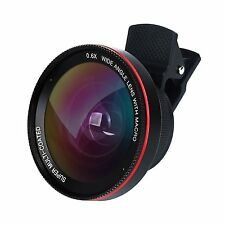 Cell Phone Camera Lens, CREATVIE DESIGN 2 in 1  0.6X Wide Angle + 15X Macro