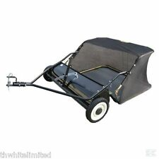 "RIDE ON MOWER LAWN SWEEPER TRACTOR TOWED 38"" (FF)"