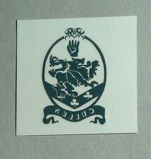 TWILIGHT CULLEN CREST CLEAR INSIDE OVAL PROMO RARE MOVIE TEMPORARY TATTOO