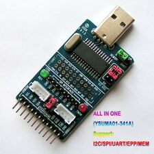 ALL IN 1 Multifunction USB to SPI/I2C/IIC/UART/TTL/ISP Serial Adapter Module YW