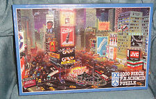 An Evening In Times Square, New York  - 1000 Piece F.X. Schmid Jigsaw Puzzle
