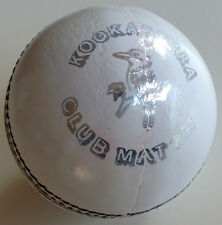 Kookaburra Club Match Cricket Ball - White