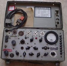 Vintage 1962 US Army Military Test Set Electron Tube Tester TV-7B/U