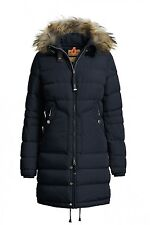 NWT Parajumpers Women's Light Long Bear Down Coat Navy Size Large