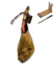Prosciutto Pata Negra iberico di ghianda certificato Revisan + porta
