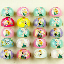 10pcs NEW Frozen Ana/Elsa Resin Rings Children Kids Girls Party bag fillers Gift
