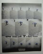 Dwindle BLIND Enjoi Almost Cliche Skateboard Catalogue 2013. Skate Art. Rare