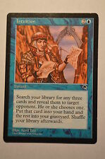 Mtg Magic the Gathering Tempest Intuition