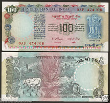 ★★ 100 Rupees I.G Patel ~ UNC ~ G-38 ~ Blue,Pink & Multicoloured ★★ bb85