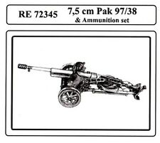 Attack RE72345 1/72 WWII German 75mm PAK 97/38