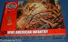 AIRFIX 01729. WW1 AMERICAN INFANTRY. 1/72 SCALE FIGURES
