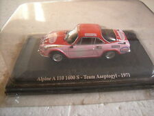 1/43 RENAULT ALPINE A 110 1600 S TEAM ASEPTOGYL 1971