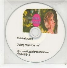 (GE29) Christina Laroque, As Long As You Love Me - DJ CD
