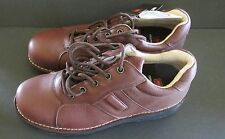 NIB Mens Worx Red Wing Brown Leather Oxford 8 M