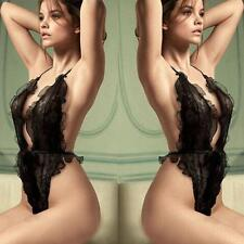 Hot Sexy Women Plus Size Lace Babydoll Underwear Lingerie Dress Sleepwear