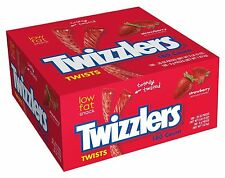 Twizzlers Strawberry Licorice 180 Count Individually Wrapped American Candy BOX