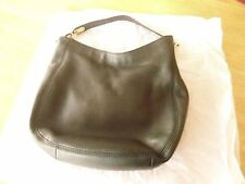 Michael Kors Fulton Medium Leather Hobo Bag - Black / Gold  - EUC!