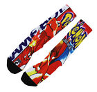 Pokemon Fashion Streetwear Footwear Sublimated Socks #C019