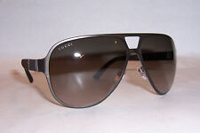 NEW GUCCI SUNGLASSES GG 2252/S R42-HA BROWN/BROWN AUTHENTIC