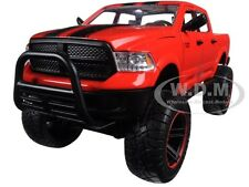 "2014 DODGE RAM 1500 PICKUP RED OFF ROAD ""JUST TRUCKS"" 1/24 BY JADA 97474"