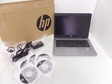 "HP EliteBook 840 G3 14"" FHD Laptop i7-6600U 2.6GHz 8GB 256GB NFC W10P V1H24UT SD"