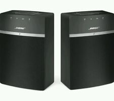 Bose SOUNDTOUCH 10 Paquete de 2 Altavoces Hi Fi Wireless Wifi Multiroom Bluetooth
