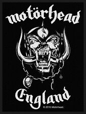 Motörhead - England Aufnäher Patch Heavy Metal Hard Rock N' Roll Biker Kutte NEU