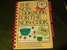 The Non-Cookbook For The Non-Cook written by Sandy Eshbaugh St. Clair  s15