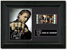 Sons of Anarchy 35 mm Film Cell Display Stunning Signed Charlie Hunnam Jackson