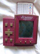 1999 Hasbro SCRABBLE EXPRESS Electronic Hand Held Game
