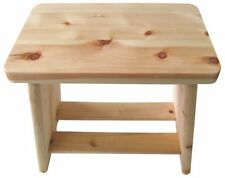 JAPANESE Hoshino Hinoki Wood Chair Isu Furo Bath Stool Onsen Made in JAPAN
