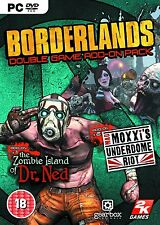 Borderlands Exp: The Zombie Island of Dr Ned / Mad Moxxi's Underdome Riot PC NEW