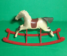 VINTAGE DOLLS HOUSE TRIANG SPOT-ON ROCKING HORSE