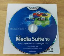 CyberLink Media Suite 10 *Brand New* With CD Key