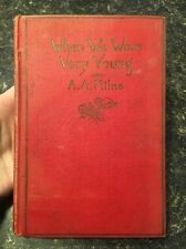 When We Were Young By A.A. Milne 1925, HC, Illustrated