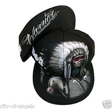 Warrior Native American Indian Mens Snapback Sublimation Cap David Gonzales DGA
